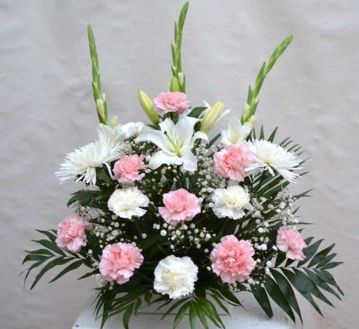 Centro de flores mediano