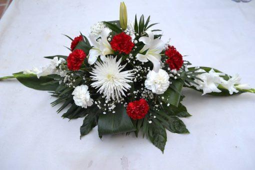 Cojin de flores pequeño