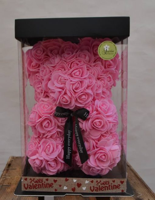 Oso de rosas foam rosas